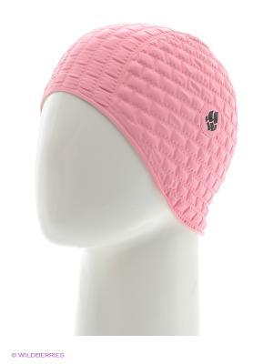 Резиновая шапочка CANDY BUBBLE Mad Wave. Цвет: бледно-розовый