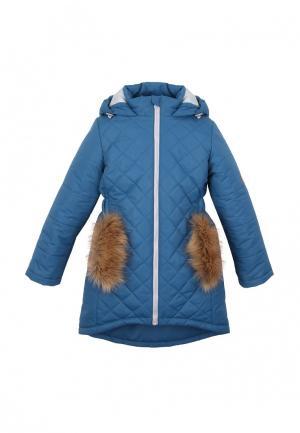 Куртка утепленная Zukka. Цвет: синий