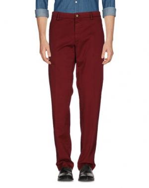 Повседневные брюки MASON'S. Цвет: красно-коричневый