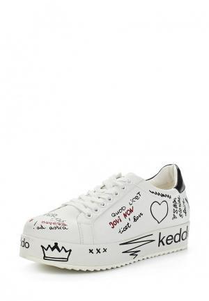 Кеды Keddo. Цвет: белый