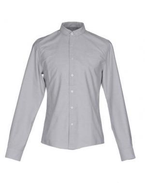 Pубашка MISERICORDIA. Цвет: светло-серый