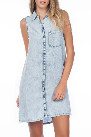 Платье Dilvin. Цвет: синий