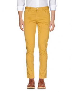 Повседневные брюки JEY COLE MAN. Цвет: охра