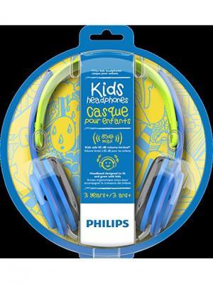 Наушники SHK2000BL/00 Philips. Цвет: синий