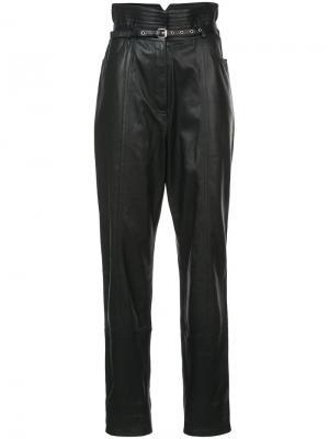 Зауженные брюки с завышенной талией Rachel Comey. Цвет: чёрный