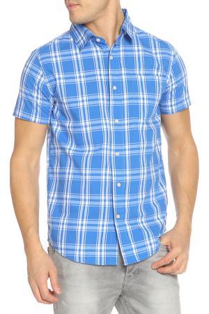 Рубашка Fox. Цвет: синий