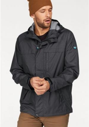 Куртка POLARINO. Цвет: темно-серый/меланжевый, хаки/меланжевый
