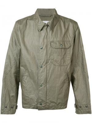 Куртка с нагрудным карманом Engineered Garments. Цвет: зелёный