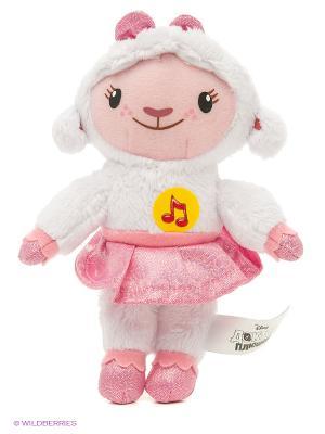 Мягкая Игрушка Мульти-Пульти дисней Плюшева. Лэмми. Цвет: белый, розовый