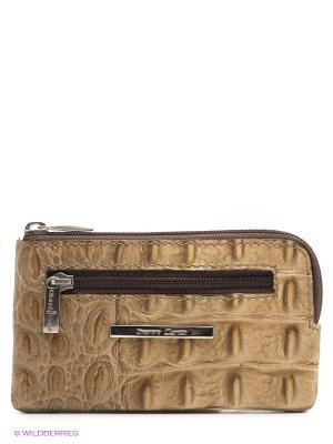 Ключница Gianni Conti. Цвет: бежевый, коричневый