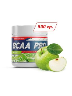 Аминокислоты BCAA Pro (яблоко) 500 гр GENETICLAB. Цвет: белый