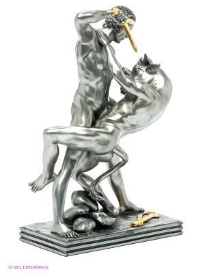 Статуэтка Тесей убивает Минотавра Veronese. Цвет: темно-серый, золотистый