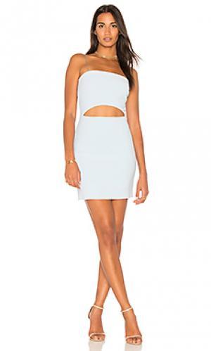 Мини платье luella BEC&BRIDGE. Цвет: нежно-голубой