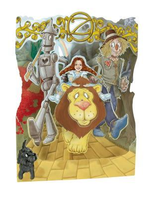 Объемная открытка  Страна Oz Даринчи. Цвет: желтый