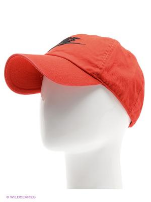 Бейсболка NIKE FUTURA WASHED H86. Цвет: красный, черный