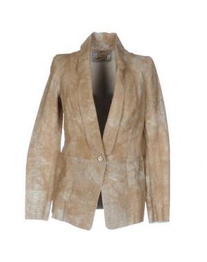 Пиджак VINTAGE DE LUXE. Цвет: песочный