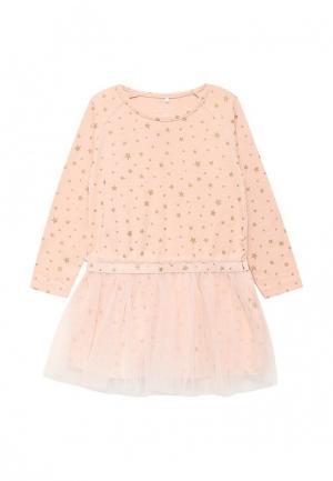 Платье Name It. Цвет: розовый