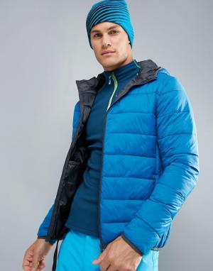 Protest Дутая лыжная куртка Nori. Цвет: синий
