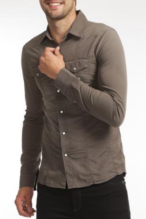Shirt 525. Цвет: brown