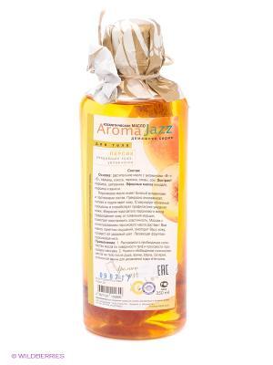 Масло жидкое для тела Персик, 350 мл АРОМАДЖАЗ. Цвет: желтый