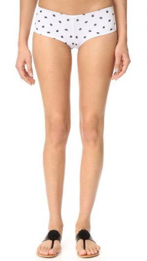 Классические шорты-трусы с бантом Lolli. Цвет: шоколадная крошка