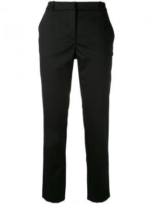 Укороченные брюки Kiltie. Цвет: чёрный