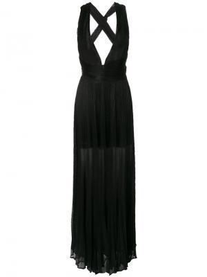 Платье Perla Maria Lucia Hohan. Цвет: чёрный