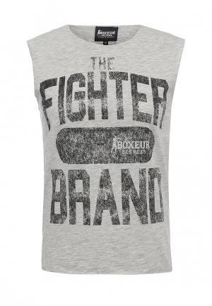 Майка Boxeur Des Rues. Цвет: серый