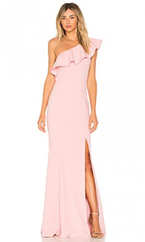 Вечернее платье kane LIKELY. Цвет: розовый