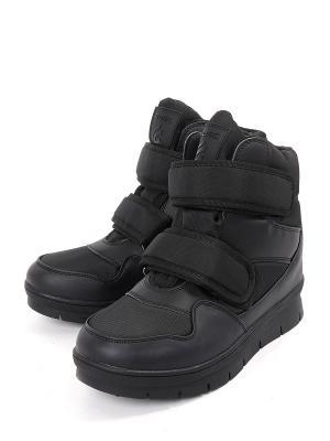 Ботинки GOGC. Цвет: черный