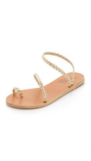 Сандалии Eleftheria Ancient Greek Sandals. Цвет: золотой