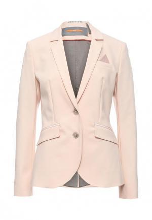 Пиджак Boss Orange. Цвет: розовый