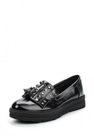 Лоферы Sweet Shoes. Цвет: черный
