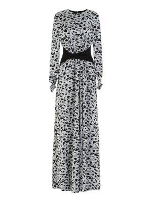 Платье вечернее макси с декоративным поясом Bella kareema