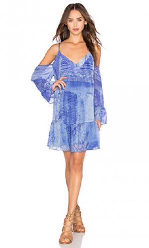 Мини платье whim Rory Beca. Цвет: синий