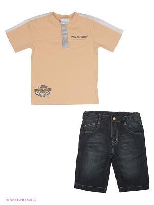 Комплект одежды WWW. Цвет: бежевый