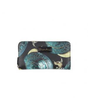 Бумажник BRACCIALINI. Цвет: черный