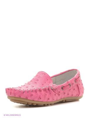Мокасины Mursu. Цвет: розовый