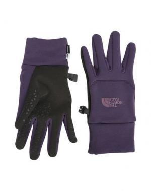 Перчатки THE NORTH FACE. Цвет: фиолетовый