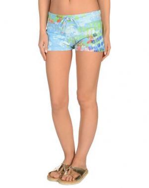 Пляжные брюки и шорты MOSAIQUE. Цвет: лазурный