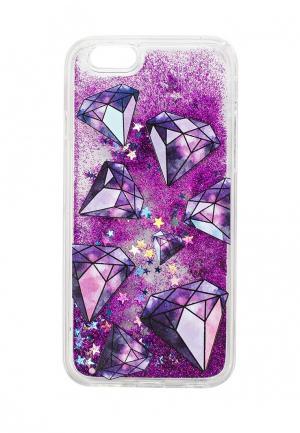 Чехол для iPhone diva. Цвет: фиолетовый