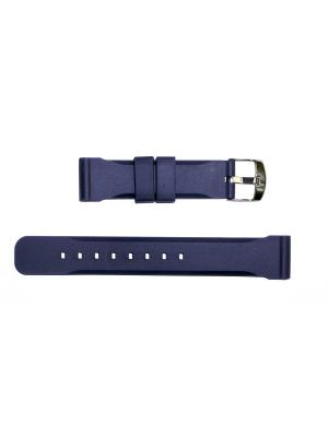 Ремень для часов 20 мм.  J.A.WILLSON J.A. Willson. Цвет: синий