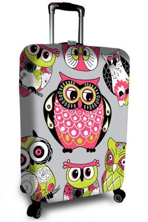 Чехол на чемодан SOVA COVER. Цвет: серый