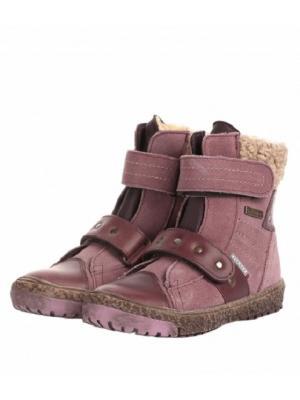 Ботинки Richter. Цвет: розовый
