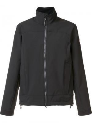 Cropped funnel neck jacket Canada Goose. Цвет: чёрный