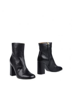 Полусапоги и высокие ботинки GIANNA MELIANI. Цвет: черный