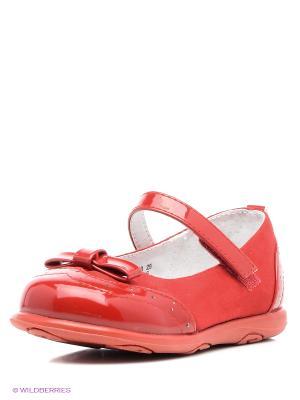Туфли San Marko. Цвет: красный