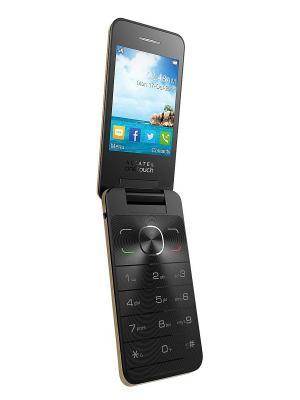 Мобильный телефон Alcatel 2012D. Цвет: золотистый