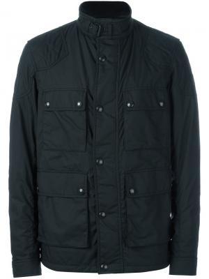 Куртка с карманами Belstaff. Цвет: чёрный