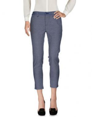 Повседневные брюки CAFèNOIR. Цвет: синий